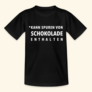 Schokoliebe - Teenager T-Shirt