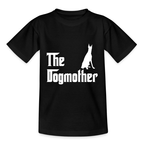 The Dogmother white dobermann - Teenager T-Shirt