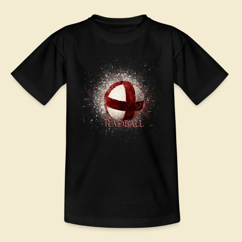 Radball | Ball - Teenager T-Shirt