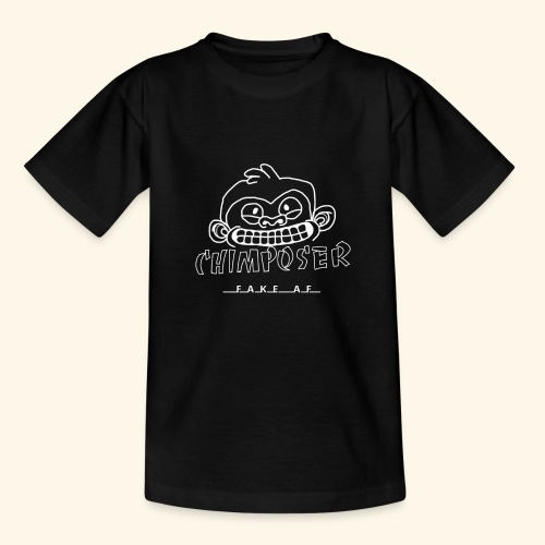 chimposer negative design - Teenager T-shirt