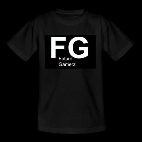 FG lofo boxed black boxed - Teenage T-shirt
