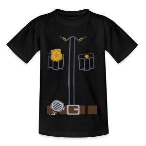 Police Tee Black edition - Teenage T-shirt