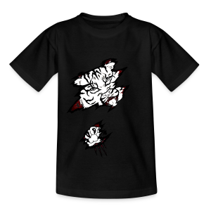 Böser Tiger - Teenager T-Shirt