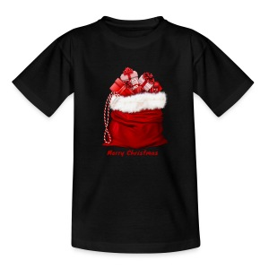 merry christmas shopping - Teenage T-shirt