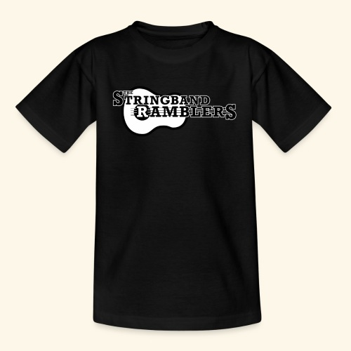 The Stringband RamblersLogo Black White - Teenager T-Shirt