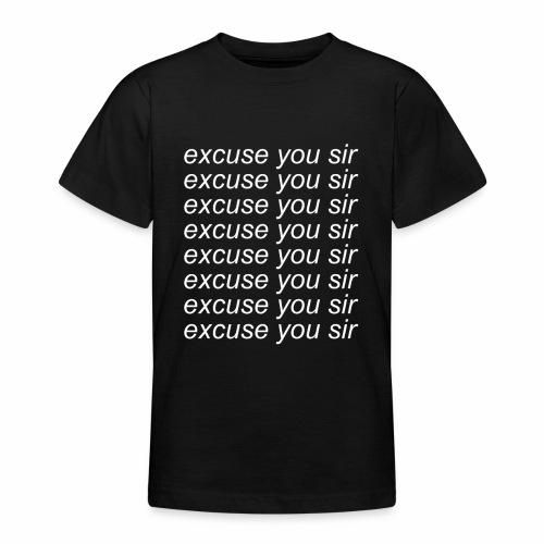 Excuse you x8 - T-shirt tonåring