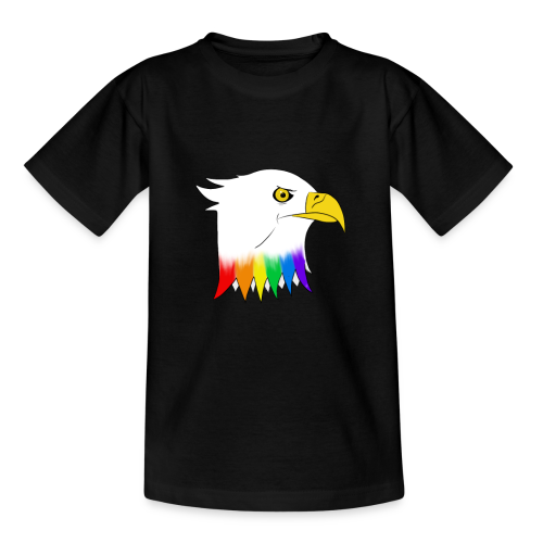 Pride Eagle - Teenage T-shirt