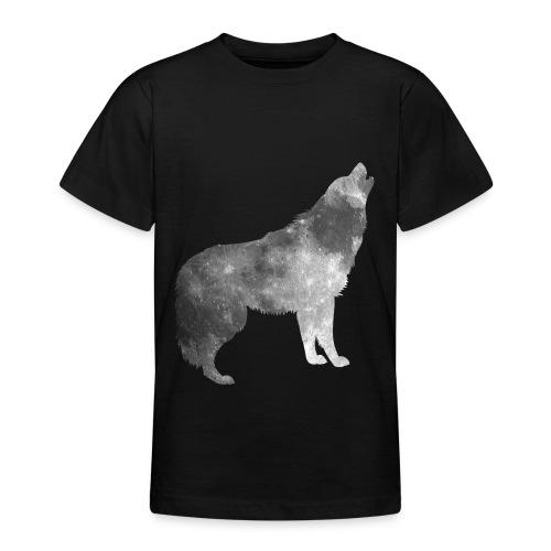 Mond im Wolfspelz - Teenager T-Shirt