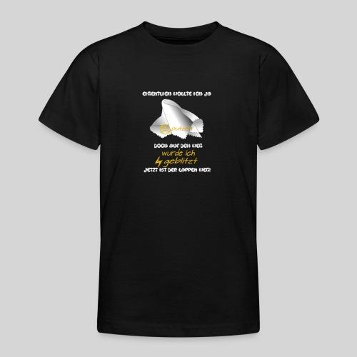 eigentlich wollte ich ja putzen originelle Ausrede - Teenager T-Shirt