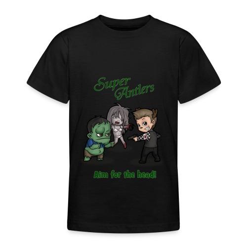 SuperAntlers Zombie Slayer - Teenage T-shirt