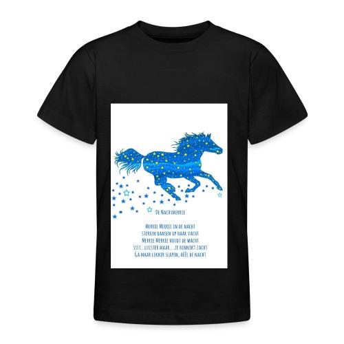 Kindershirt Nachtmerrie - Teenager T-shirt