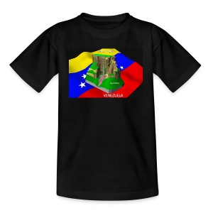 Salto Angel 3D - Camiseta adolescente