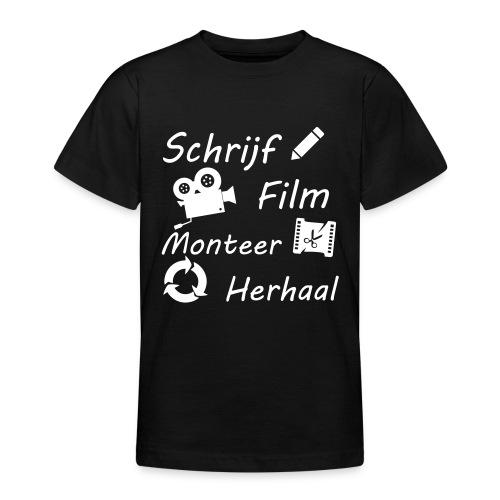 Proces van film maken - Teenager T-shirt