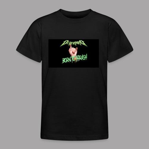 Born to Thrash! - T-shirt tonåring