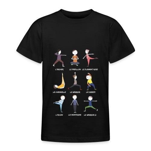 Les petits yogis - T-shirt Ado