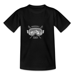Downhill Ski - Teenage T-shirt