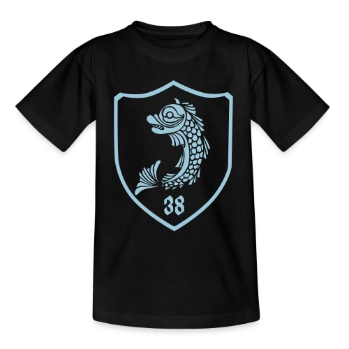 grenoble, dauphin blason 38 - T-shirt Ado