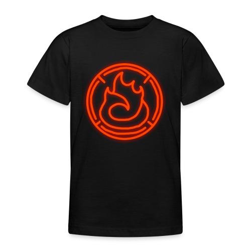 Fire Magic Circle - Teenage T-shirt