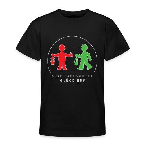 Die Bergmannsampel leuchtet - Teenager T-Shirt