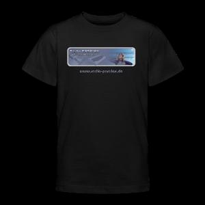 Radio PARALAX Classic-Logo mit Webadresse - Teenager T-Shirt