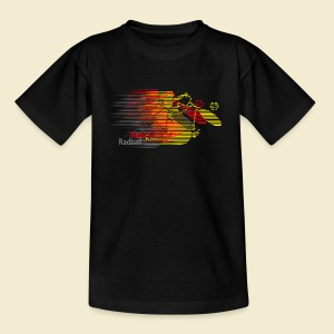 Radball | Earthquake Germany - Teenager T-Shirt