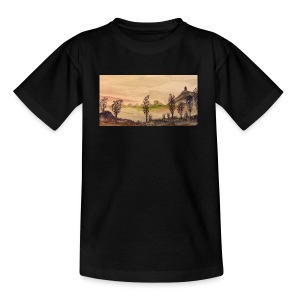 Glastonbury Tor - Teenage T-shirt
