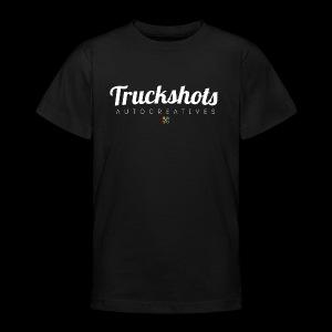 logo with small pistols RGB - Teenage T-shirt