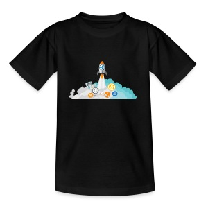 XRP Crypto To the moon and beond! - Teenage T-shirt