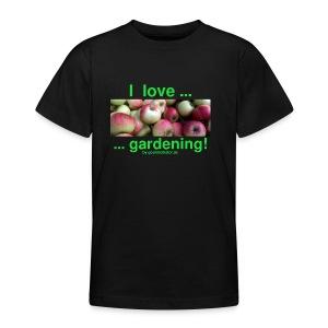 Äpfel - I love gardening! - Teenager T-Shirt