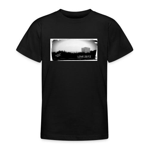 Zeitzer Skyline - Teenager T-Shirt