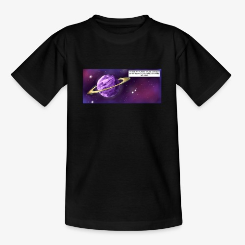 Comic Intro - Teenage T-shirt