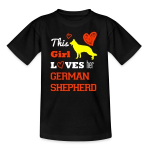 German shepherd - Teenager T-Shirt