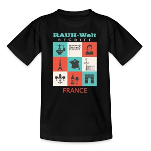 Rauh Welt France color - T-shirt Ado