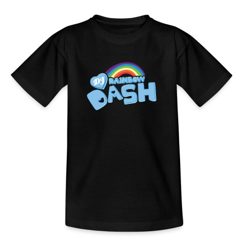 Rainbow Dash Logo neu - Teenager T-Shirt