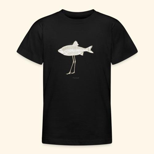 Fence pesce illustrazione - Maglietta per ragazzi