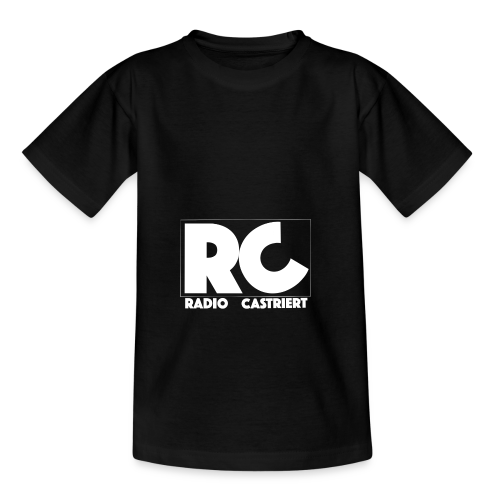 Radio CASTriert Logo 2017/2018 - Teenager T-Shirt