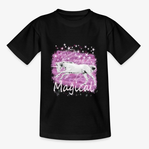 Unicorn Birthday Gift T Shirt for magical girls! - Teenage T-Shirt