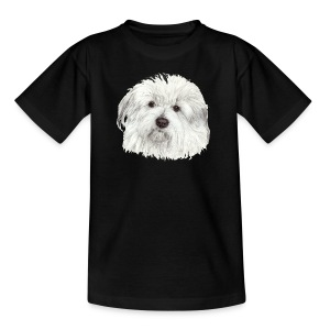 coton-de-tulear - Teenager-T-shirt