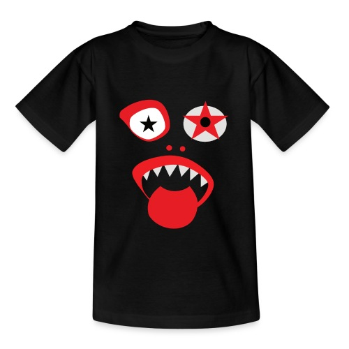 Clown Gesicht - Teenager T-Shirt