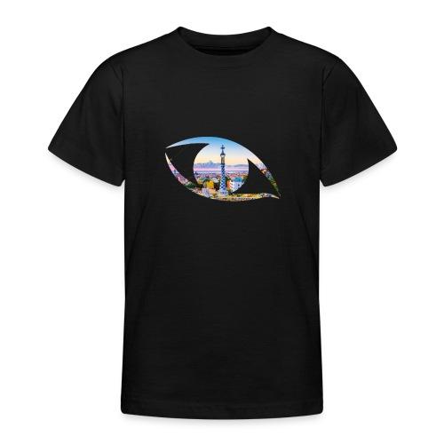 The eye of Barcelona - Teenager T-shirt