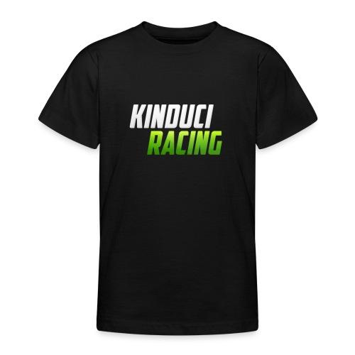 kinduci racing logo - Teenage T-shirt