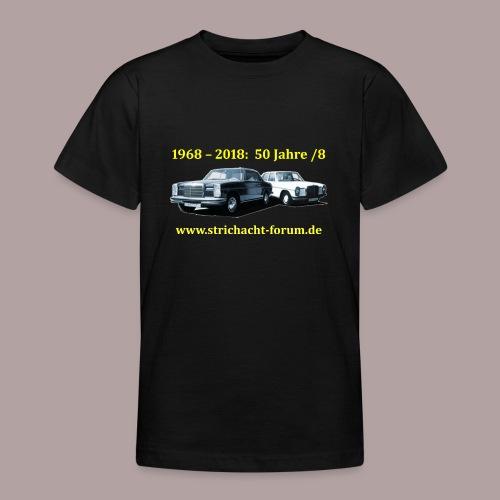 50jahre /8 strichacht-forum.de in gelb - Teenager T-Shirt
