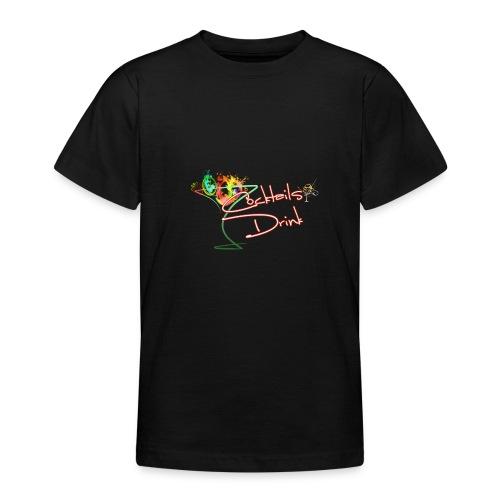 cocktailsdrink shirt - Camiseta adolescente