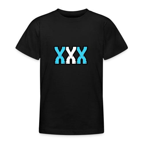 XXX (Blue + White) - Teenage T-shirt