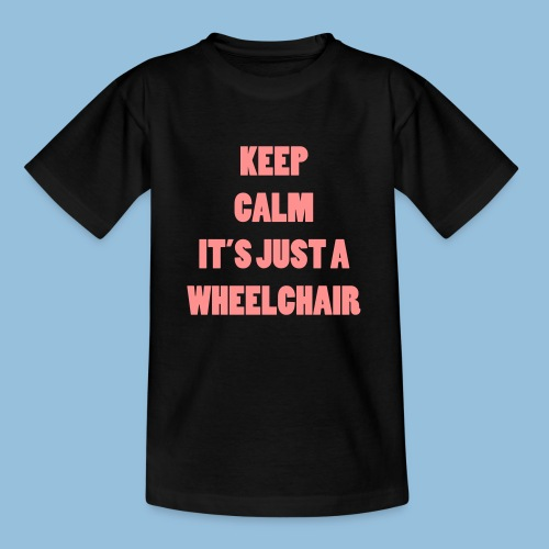 JustaWheelchair - Teenager T-shirt