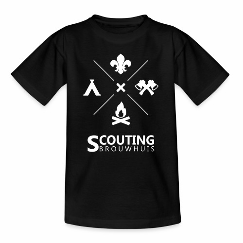 Scouting Brouwhuis - Teenager T-shirt