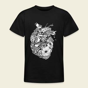 Kolibri Herz - Teenager T-Shirt