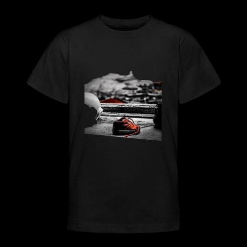 sko - T-shirt tonåring