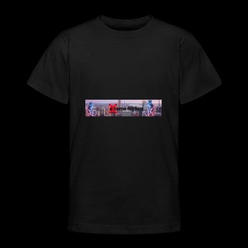 eXtreme fli99ers tryck på en tröja. - T-shirt tonåring