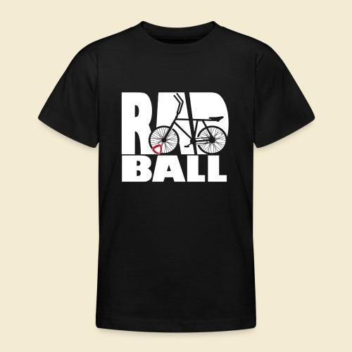 Radball | Typo - Teenager T-Shirt